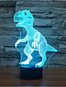 динозавр touch dimming 3d led night light 7colorful decor атмосферу лампа новинка освещение свет