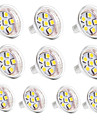 1W GU4(MR11) LED a Double Broches MR11 6 diodes electroluminescentes SMD 5050 Decorative Blanc Chaud Blanc Froid 100lm 3000-3500/6000-6500