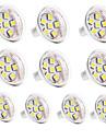 1W GU4(MR11) LED Bi-pin 조명 MR11 6 LED가 SMD 5050 장식 따뜻한 화이트 차가운 화이트 100lm 3000-3500/6000-6500K DC 12V