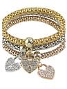 Femme Charmes pour Bracelets Cœur Mode Alliage Amour Bijoux Pour Soirée Quotidien Regalos de Navidad