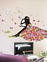 Bande dessinee Stickers muraux Autocollants avion Autocollants muraux decoratifs Autocollants mariage,Vinyle Decoration d\'interieur