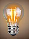 1pc 4W 400lm E26 / E27 LED Filament Bulbs A60(A19) 4 LED Beads COB Decorative Warm White 220-240V