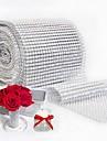 Kör Pöttyös Szalvétagyűrű , Műanyag Anyag Lakodalom dekoráció Esküvői bankett vacsora Karácsonyi dekoráció Favor Táblázat Dceoration