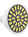 YWXLight® 6W MR16 LED Spotlight 32SMD 5733 500-600lm Warm/Cool White AC 110V/220V