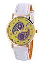 Ladies Fashion Girl Quartz Watch Clock Women Leather Casual Dress Women\'s Flower Wristwatch Cool Watches Unique Watches