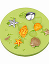 выпечке Mold конфеты Шоколад Пироги Торты Силикон Экологичные Своими руками 3D