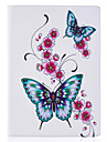 Case For Apple iPad 4/3/2 Card Holder with Stand Flip Pattern Full Body Cases Butterfly Hard PU Leather for iPad 4/3/2 Apple