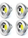 GU5.3(MR16) Точечное LED освещение MR16 1 COB 450 lm Тёплый белый Холодный белый К Декоративная V