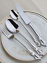 4-Piece Slap-Up Western Restaurant The Kitchen Utensils Stainless Steel Children knives And Forks