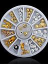 1 pcs Tırnak Takısı Sevimli tırnak sanatı Manikür pedikür Günlük pırıltılar / madeni / Moda / Nail Jewelry
