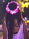 розовый цветок привел корону / цветочные headbandlight вверх цветок гало / оголовье Хэллоуин coustume Рождественский подарок