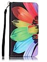 Кейс для Назначение SSamsung Galaxy A5(2016) A3(2016) Кошелек Бумажник для карт Чехол Цветы Твердый Искусственная кожа для A5(2016)