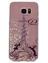 Coque Pour Samsung Galaxy S8 Plus S8 Motif Coque Tour Eiffel Flexible TPU pour S8 Plus S8 S7 edge S7 S6 edge S6 S5 S4 S3
