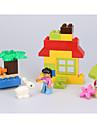 ブロックおもちゃ ギフトのため ブロックおもちゃ Rabbit / サーキュラー / 四角形 プラスチック 3上記 虹色 おもちゃ
