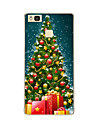 For Huawei P9 P9 lite Christmas tree TPU Soft Case Cover for P8 P8 lite