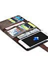 제품 iPhone X iPhone 8 iPhone 7 iPhone 7 Plus iPhone 6 케이스 커버 지갑 카드 홀더 오리가미 마그네틱 풀 바디 케이스 한 색상 하드 천연 가죽 용 Apple iPhone X iPhone 8 Plus