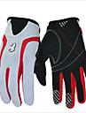 Gants sport Garder au chaud Etanche Sechage rapide Vestimentaire Respirable Antiusure Protectif Doigt complet Spandex Silicone Coton