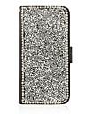 Кейс для Назначение SSamsung Galaxy Кейс для  Samsung Galaxy Бумажник для карт со стендом Флип Чехол Сияние и блеск Искусственная кожа для