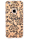 For Embossed / Pattern Case Back Cover Case Flower Soft TPU for Apple iPhone 6s Plus/6 Plus / iPhone 6s/6 / iPhone SE/5s/5