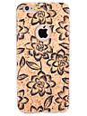 Pour Relief / Motif Coque Coque Arriere Coque Fleur Flexible TPU pour Apple iPhone 6s Plus/6 Plus / iPhone 6s/6 / iPhone SE/5s/5
