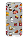 Case For Apple iPhone 5 Case iPhone 6 iPhone 7 Ultra-thin Transparent Pattern Back Cover Food Soft TPU for iPhone 7 Plus iPhone 7 iPhone
