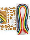 400pcs quilling papier de bricolage kit art de la decoration / 7pcs ensemble