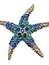 Women\'s Brooches - Starfish Fashion Brooch White / Red / Blue For Party / Daily / Casual