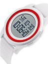 SKMEI 남성용 스포츠 시계 손목 시계 디지털 알람 달력 방수 스톱워치 LCD 듀얼 타임 존 야광의 고무 밴드 멋진 블랙 화이트 블루 로즈