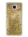 For Samsung Galaxy A5(2016) A3(2016) Flowing Liquid Case Back Cover Case Glitter Shine Soft TPU