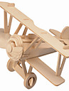 Wooden Puzzles Plane / Aircraft House Professional Level Wood Christmas Carnival Children\'s Day
