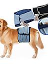 Собака Брюки Смешанная хлопковая ткань Подгузники Одежда для собак Однотонный Черный Синий Терилен Костюм Для домашних животных Муж. На