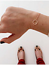 Femme Chaines & Bracelets Amour Style Simple Alliage Forme de Cercle Bijoux Quotidien Decontracte