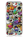 For iPhone 7 iPhone 6 iPhone 5 Case Case Cover Glow in the Dark IMD Back Cover Case Cartoon Soft TPU for Apple iPhone 7 Plus iPhone 7
