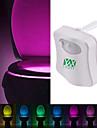 ywxlight ® 8 색 변기 조명 조명 화장실 조명 인간의 모션 센서 조명 욕실 화장실 야간 조명 피어 자동 활성화