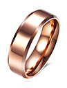 Men\'s Ring Simple Style European Costume Jewelry Stainless Steel Titanium Steel Jewelry For Party Daily Casual