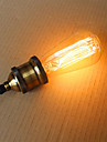 25W st58 edison incandescent bulbs 19 E27 silk vertical wire retro decorative bulbs