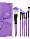 7pcs Kit Makeup Brushes Professional Set Cosmetic Lip Blush Foundation Eyeshadow Brush Face Make Up Tool Beauty Essentials