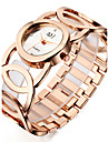 ASJ Women\'s Luxury Watches Wrist Watch Gold Watch Japanese Quartz Silver / Gold / Rose Gold 30 m Water Resistant / Waterproof Shock Resistant Cool Analog Ladies Charm Casual Fashion Elegant - Silver