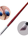 1PC Nail Art phototherapy The Polish Glue The Gradient Shading Pen Chuo Chuo Pen DIY Bevel The Brush Mahogany Bar