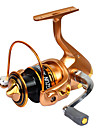 Fishing Reel Spinning Reels 2.6:1 11 Ball Bearings Exchangable General Fishing-LF2000