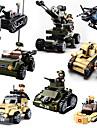 Building Blocks Toys Toys Tank Military Plastic Kids Boys Boys\' Pieces
