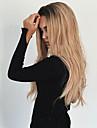 Парики из искусственных волос Волнистый Блондинка Черный / Клубника Blonde Искусственные волосы Жен. Жаропрочная / Волосы с окрашиванием омбре / Темные корни Блондинка Парик Длинные Без шапочки-основы