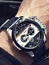 Муж. Армейские часы Модные часы Наручные часы Кварцевый Календарь Защита от влаги Панк Крупный циферблат Натуральная кожа Группа Винтаж С