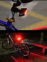 Luce posteriore per bici LED Ciclismo Telecomando Facile da portare Smart Laser Lumens Rosso Ciclismo
