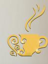 Зеркала Мода Геометрия Наклейки 3D наклейки Зеркальные стикеры Декоративные наклейки на стены, Винил Украшение дома Наклейка на стену