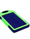 5000mAhPower Bank External Battery Solar Charge / Flashlight / Super Slim 5000 1000 Solar Charge / Flashlight / Super Slim