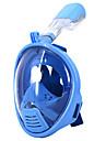 Masques de plongee Lunettes de natation Masque de Snorkeling Impermeable Masues Integrales 180 degres Bouteille Etanche Plongee & Masque