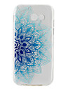 For Samsung Galaxy A3(2017) A5(2017) Ultra-thin Translucent Case Back Cover Case Flower Soft TPU for  A5(2016) A3(2016)