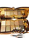 Paleta de Sombras Secos Paleta da sombra Po NormalMaquiagem para o Dia A Dia Maquiagem para Dias das Bruxas Maquiagem de Festa Maquiagem