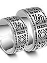 여성용 커플 링 / 새해 맞이 - 도금 플래티넘 세련 조절가능 실버 제품 결혼식 / 파티 / 특별한 때